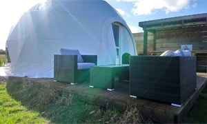 Our Glamping Dome