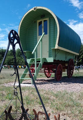 Exterior of our Gypsy Caravan